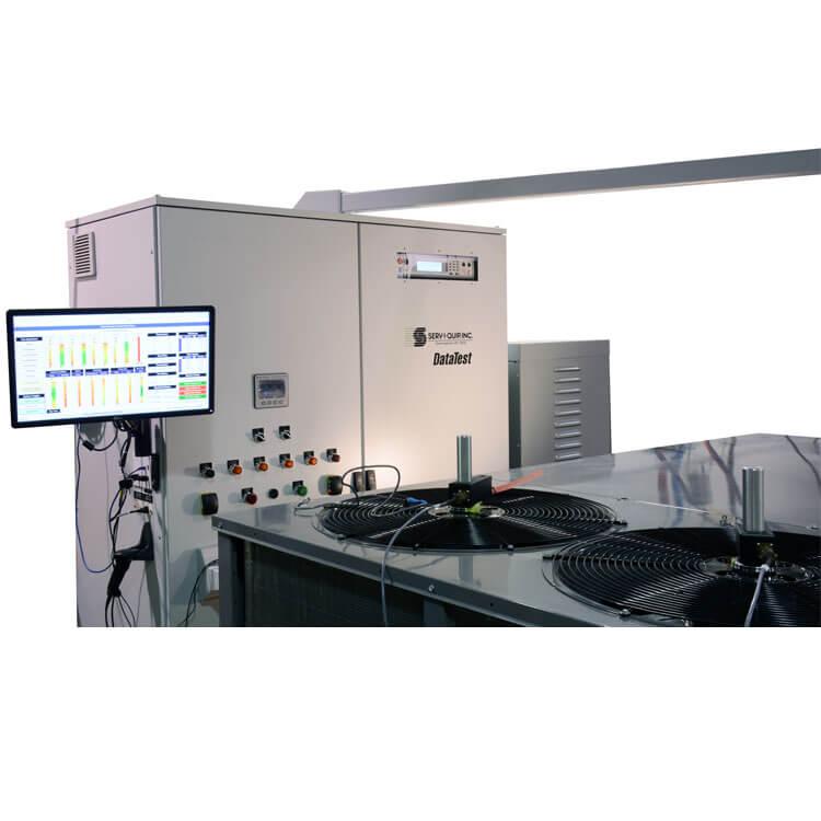 Sistema de prueba comercial de múltiples compresores