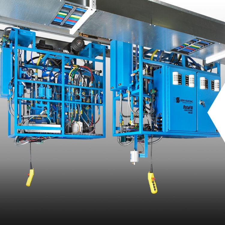 Sistema DataFill de llenado de líquido de la dirección hidráulica y el embrague