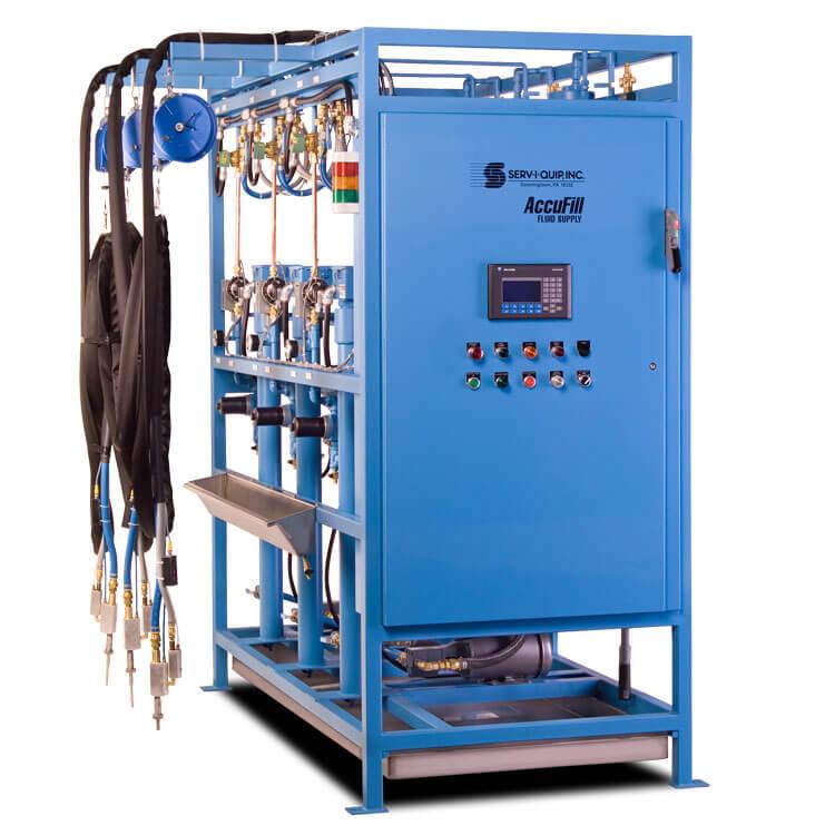 Sistema AccuFill de llenado hasta el tope para transmisión